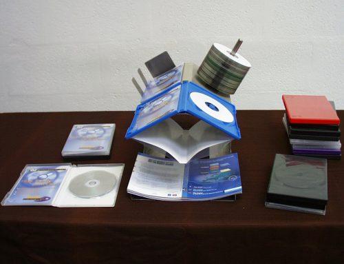 DVD verpacken