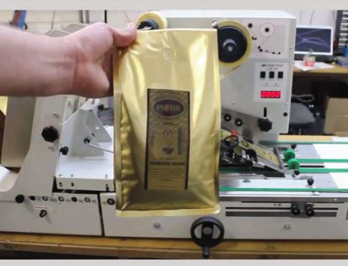 Kaffeebeutel mit Aromaventil